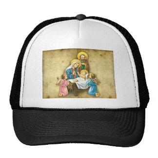 Regalo dulce simple de la imagen de la natividad d gorras