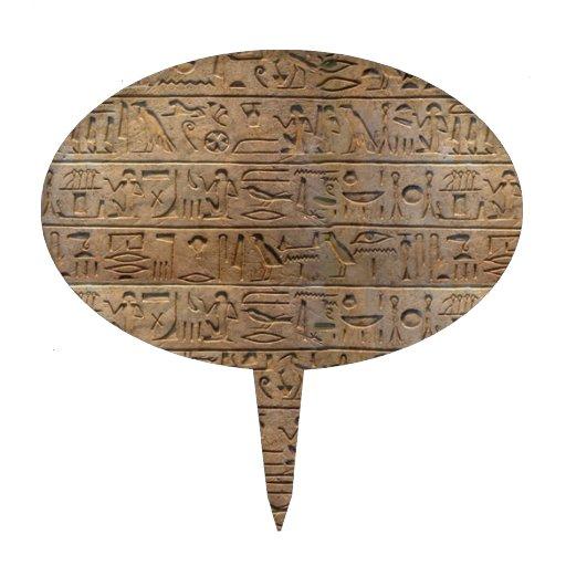 Regalo egipcio antiguo del diseñador de los jerogl palillos de tarta