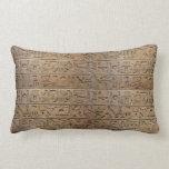 Regalo egipcio antiguo del diseñador de los jerogl almohada