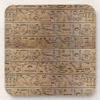 Regalo egipcio antiguo del diseñador de los jerogl posavasos de bebida
