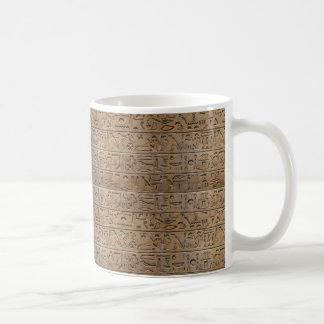 Regalo egipcio antiguo del diseñador de los taza de café