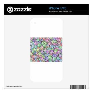 regalo en colores pastel del navidad iPhone 4 skins