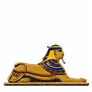 Regalo esculpido antiguo de Egipto de la esfinge m Esculturas Fotograficas
