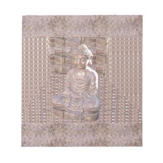 Regalo espiritual de la meditación de la religión bloc de papel