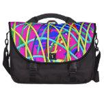 Regalo femenino abstracto de la novedad del diseño bolsas de portatil