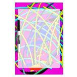 Regalo femenino abstracto de la novedad del diseño pizarra