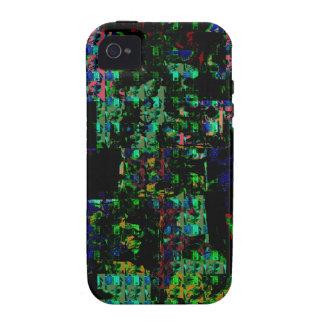 REGALO FESTIVO del extracto del espectro de la Case-Mate iPhone 4 Funda