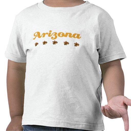 Regalo floral de Arizona Camiseta