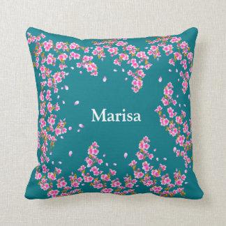 Regalo floral de la almohada de tiro buen para cojín decorativo