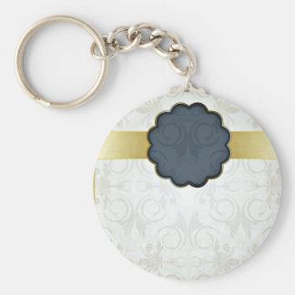 Regalo floral elegante de la tarjeta del día de Sa Llavero