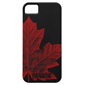 Regalo fresco de la hoja de arce de Canadá del cas iPhone 5 Case-Mate Cobertura
