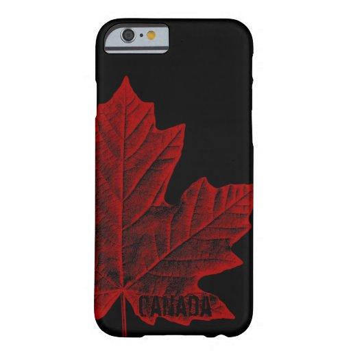 Regalo fresco de la hoja de arce de Canadá del Funda De iPhone 6 Barely There