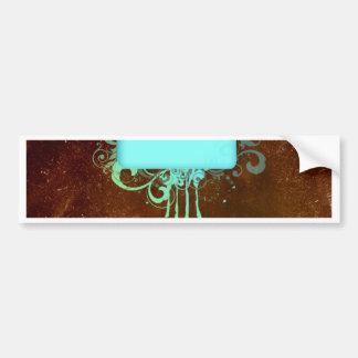 Regalo fresco del goteo de la pintura del cobre pegatina para auto