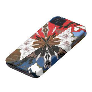 Regalo fresco del navidad del caso del iPhone 4S d Case-Mate iPhone 4 Funda