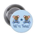 Regalo gemelo lindo de los ratones del muchacho pin