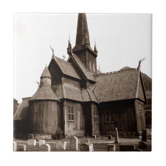 Regalo gótico de la teja de la iglesia y del