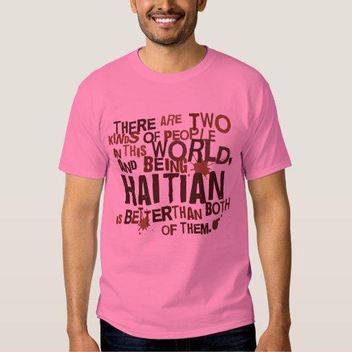 Regalo haitiano (divertido) remeras