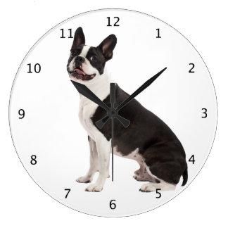 Regalo hermoso del reloj de pared de la foto del p