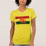 Regalo holandés de la bandera del león holandés tshirts