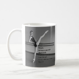 Regalo ideal de la danza para los bailarines taza