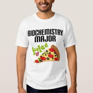 Regalo importante de la bioquímica (pizza) playeras