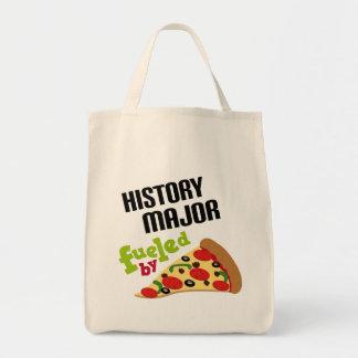 Regalo importante de la historia (pizza) bolsas