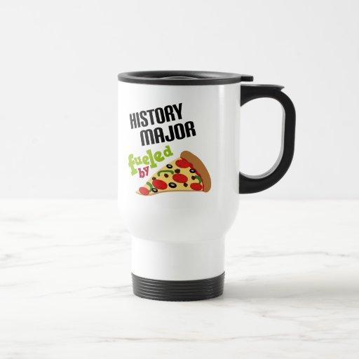 Regalo importante de la historia (pizza) taza