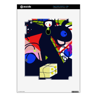 Regalo iPad 2 Calcomanía