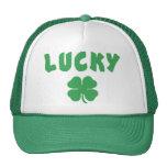 Regalo irlandés afortunado gorras
