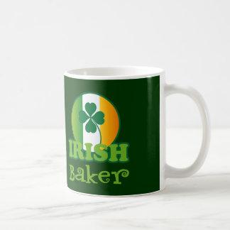 Regalo irlandés del panadero taza de café