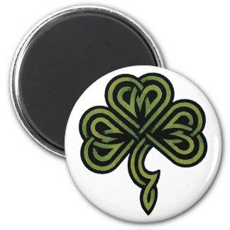 Regalo irlandés del trébol imán para frigorifico