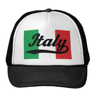 Regalo (italiano) de la bandera de Italia Gorro De Camionero