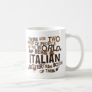 Regalo italiano (divertido) taza clásica