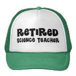 Regalo jubilado del profesor de ciencias gorra