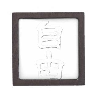 """Regalo/""""libertad """" del kanji cajas de recuerdo de calidad"""