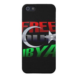 Regalo libre de Libia para los amigos y la familia iPhone 5 Funda