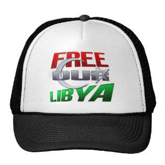 Regalo libre de Libia para los amigos y la familia Gorras