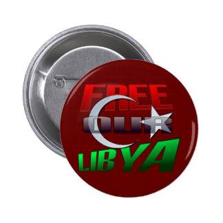 Regalo libre de Libia para los amigos y la familia Pins