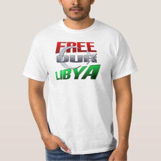 Regalo libre de Libia para los amigos y la familia Playera