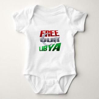 Regalo libre de Libia para los amigos y la familia Remera