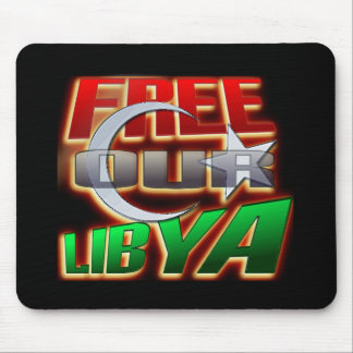 Regalo libre de Libia para los amigos y la familia Tapetes De Raton