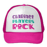 Regalo lindo de la música rock de los jugadores gorro de camionero