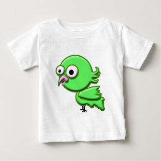 Regalo lindo del bebé del loro para la camisa del