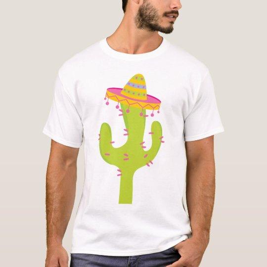 Regalo lindo del cactus de Cinco De Mayo Playera
