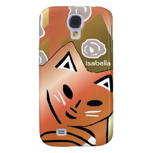 Regalo lindo del caso 3GS y 3G del iPhone del gato