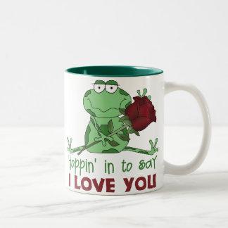 Regalo lindo del el día de San Valentín Tazas De Café