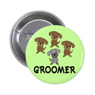 Regalo lindo del empleo del Groomer del perro Pins