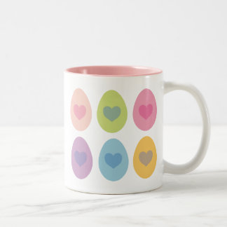 Regalo lindo del huevo de Pascua Taza De Café