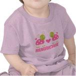 Regalo lindo del huracán WV de la mariquita Camisetas