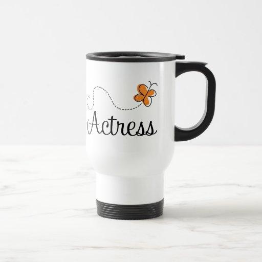 Regalo lindo del logotipo de la mariposa de la act taza